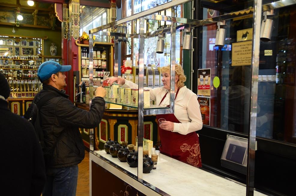 """Дегустации китайского чая GREENPANDA в магазине """"Чай-Кофе"""" на Мясницкой"""